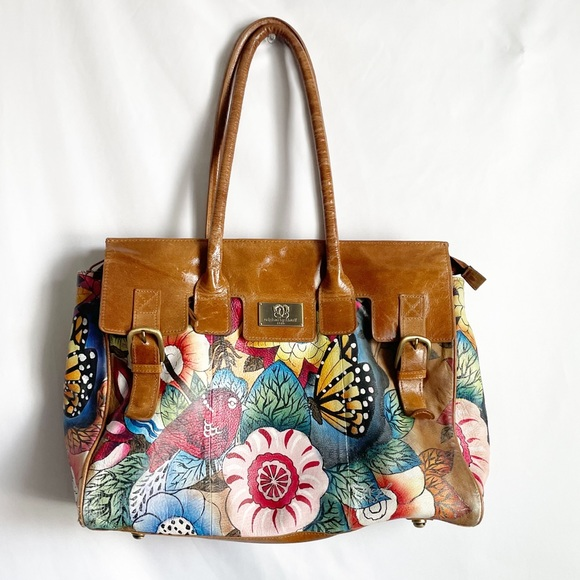 Sharif Limited Edition Hand painted Leather Purse